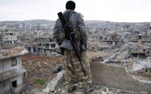 مقاتل كردي سوريا عين العرب الحسكة القامشلي روج افا
