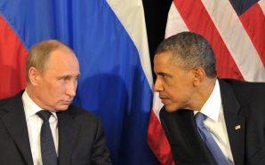 باراك أوباما فلاديمير بوتين