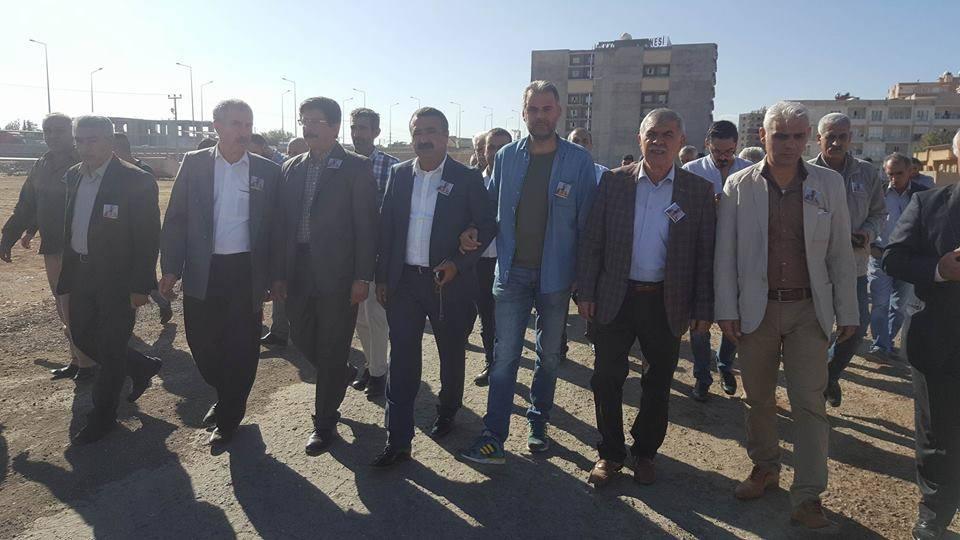 جنازة النقيب محمود مجيد برخدان في ماردين