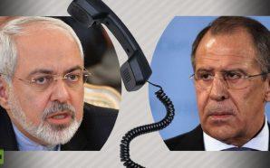 لافروف وظريف يبحثان هاتفيا الأوضاع الأمنية والسياسية في سوريا