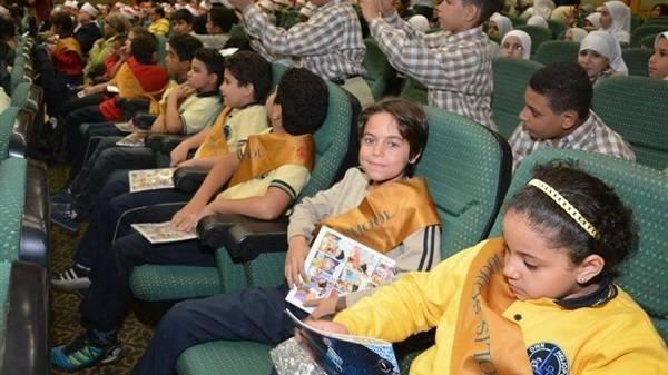أطفال سوريون شاركوا في اليوم العالمي للطفل بالقاهرة