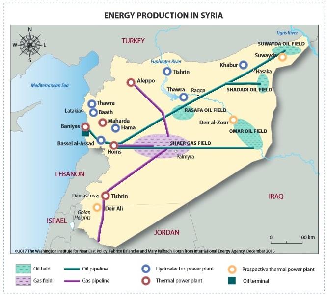 إنتاج الطاقة في سوريا