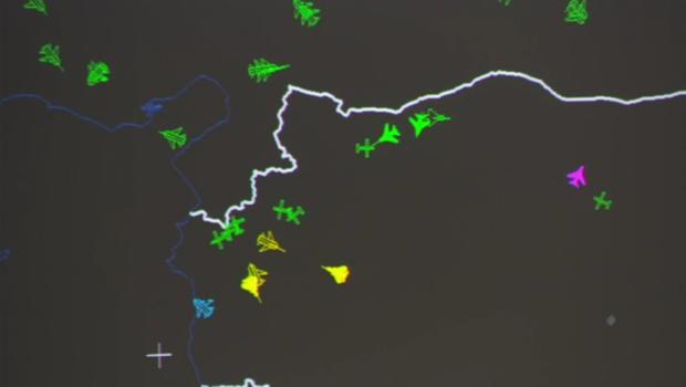 ازحام الأجواء السورية بالطيران الروسي وطيران التحالف الدولي