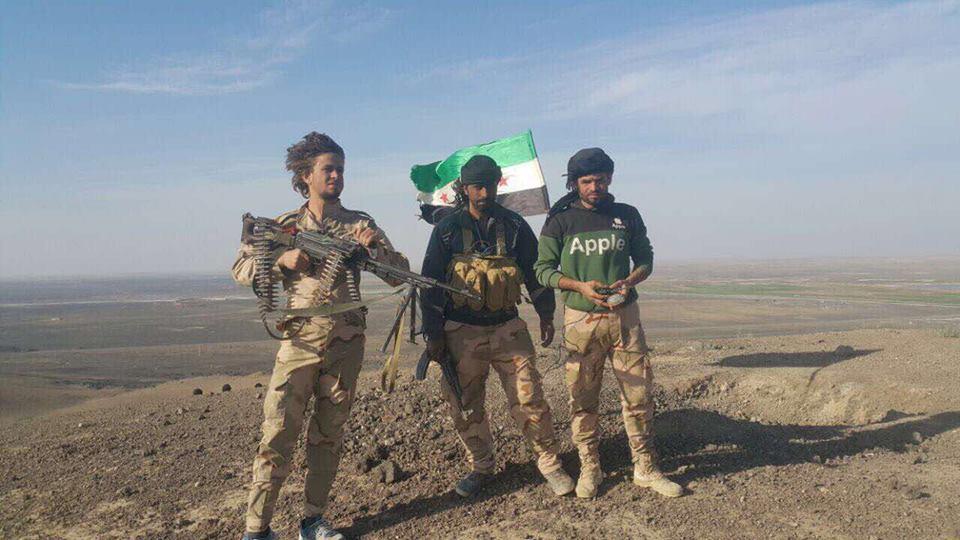 الشهيد أحمد الرمضان على جبهات الرباط في سوريا
