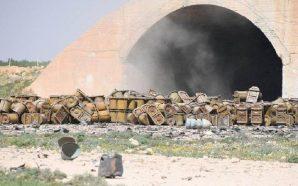مقتل وإصابة العشرات من قوات النظام في انفجار مستودع ذخائر…