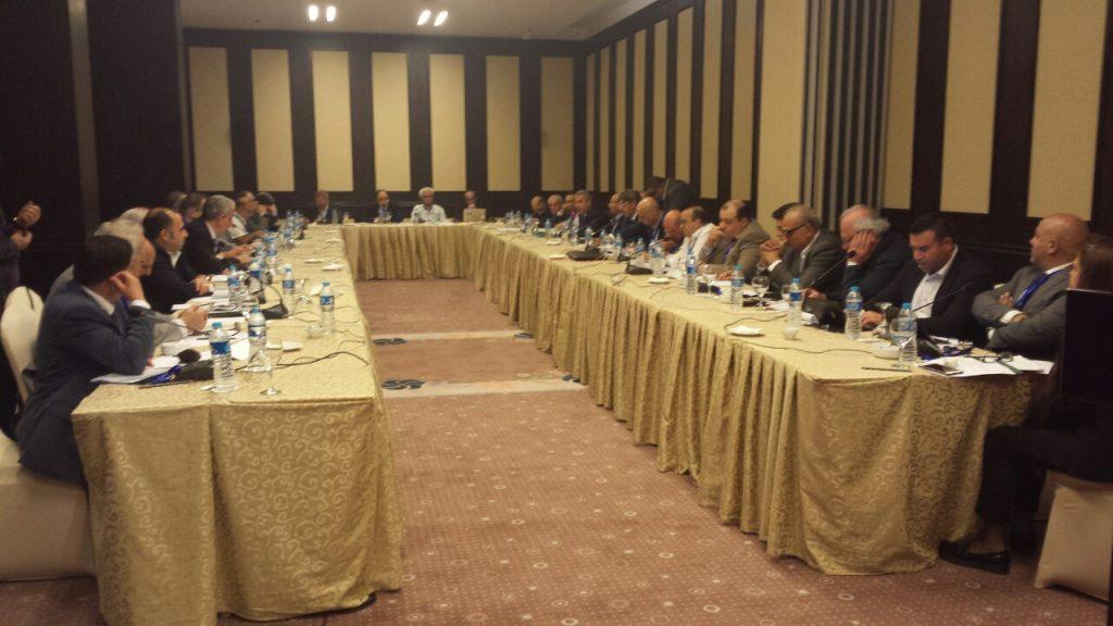 الحضور في الملتقى التشاوري للقوى الديمقراطية في سوريا القاهرة 03052017