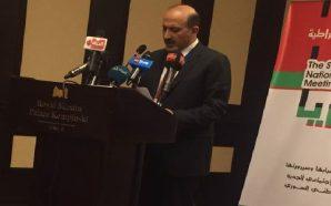 كلمة السيد أحمد الجربا في افتتاح الملتقى التشاوري للقوى الديمقراطية…