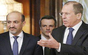 أحمد الجربا في موسكو لإجراء مباحثات هامة مع كبار المسؤولين…