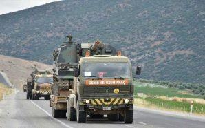 الجيش التركي يدفع بتعزيزات عسكرية جديدة إلى الحدود مع سوريا