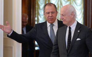 دي ميستورا يلتقي لافروف وشويغو في موسكو تمهيدا لجولة جنيف…