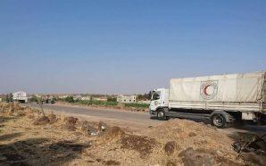 دخول قافلة مساعدات أممية لريف حمص الشمالي وداعش يهاجم مواقع…