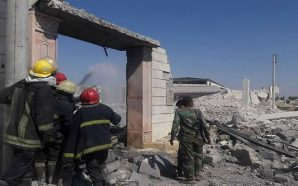 لواء القدس يعفش منازل اللاجئين الفلسطينيين في حلب