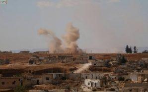 قوات النظام تقصف قرى المنطقة العازلة وتهدد أهالي المنطقة بالإبادة