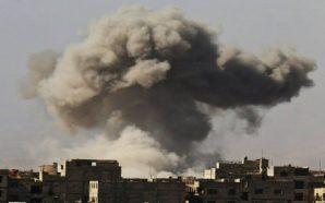 عودة الاشتباكات العنيفة في الغوطة الشرقية وسط قصف جوي ومدفعي…