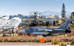 انفجارات عنيفة متتالية تهز محيط قاعدة حميميم الجوية الروسية