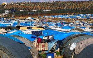 أوضاع إنسانية صعبة يعيشها 800 ألف نازح في مخيمات إدلب