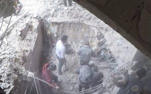 قوات النظام تقصف الغوطة الشرقية وقافلة مساعدات تصل مخيم الوافدين…