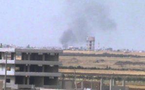 استنفار في مقر الفرقة التاسعة بمدينة الصنمين إثر إطلاق نار…
