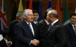 جاويش أوغلو يبحث مع تيلرسون تنسيق جهود البلدين في سوريا