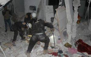 قصف جوي وصاروخي على مدن وبلدات محافظتي إدلب وحماة يوقع…