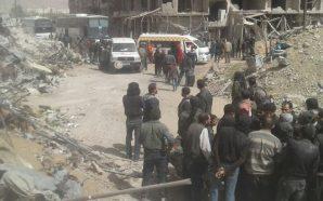 حركة أحرار الشام تجلي مقاتليها من حرستا بموجب اتفاق مع…