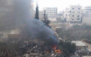 ارتفاع حصيلة مجزرة كفربطنا وقوات النظام تواصل حملتها في الغوطة…