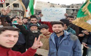 النظام وحلفاؤه يضاعفون ضغوطهم على دوما لتوقيع اتفاق مصالحة أو…