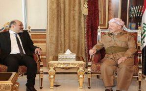 الجربا يلتقي البارزاني لبحث تطورات الأوضاع فى سوريا والعراق