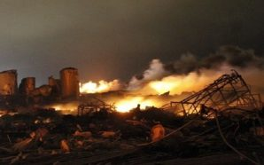 انفجارات عنيفة تدمّر مقر قيادة العمليات الإيرانية في نجها