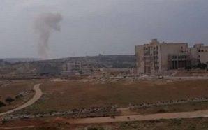 اشتباكات متقطعة في محيط الفوعة بريف إدلب بالتزامن مع انفجار…