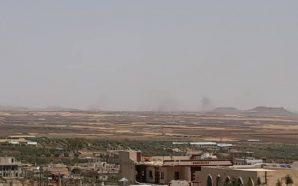 المدفعية الإسرائيلية تستهدف مواقع تابعة للمليشيات الإيرانية في درعا