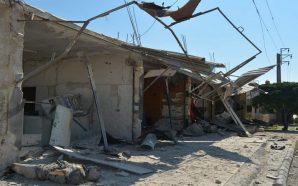 مقتل سبعة نازحين خلال غارات على مدرسة عين التينة بريف…