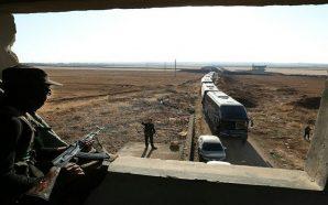 وصول 121 حافلة لإجلاء 7000 من مقاتلي وسكان بلدتي الفوعة…