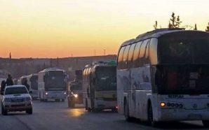 انتهاء عملية إجلاء مقاتلي وسكان كفريا والفوعة بالتزامن مع الإفراج…