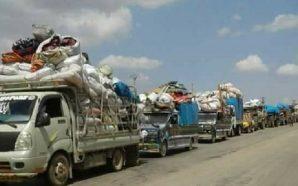 محافظة إدلب تشهد موجة عودة لآلاف النازحين عقب الاتفاق الروسي…