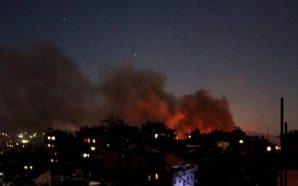 الصواريخ الإسرائيلية تستهدف مجددا مستودعات للأسلحة الإيرانية في مطار دمشق…