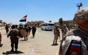 مظاهرات عارمة في محافظة درعا للإفراج عن المعتقلين وإنهاء الوجود…