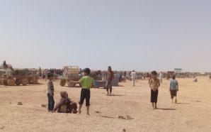 مخيم الركبان يوجه نداءات استغاثة لفك الحصار وإدخال مساعدات إنسانية…