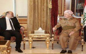 الجربا يهنئ البارزاني بنجاح الانتخابات البرلمانية في إقليم كردستان العراق