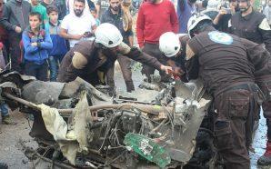 انفجار سيارة مفخخة في إدلب والدفاع المدني ينجح بتفكيك عبوة…