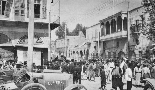 القوات البريطانية في دمشق - 2 تشرين الأول 1918
