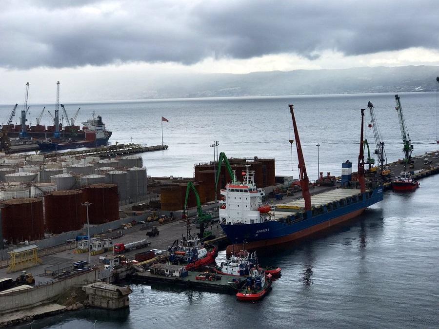 سفينة الشحن الروسية اسبرطة اثنان تتزود بالوقود في تركيا عقب عودتها من طرطوس - 22 تشرين الثاني 2018