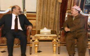 الجربا وبارزاني يبحثان أوضاع سوريا والعراق وتطورات الأحداث في الشرق…