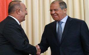 جاويش أوغلو ينفي أي تنافس بين روسيا وتركيا في سوريا