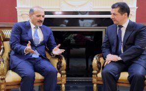 الجربا يهنئ مسرور البارزاني بنجاحه في تشكيل حكومة كردستان العراق…