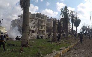 عشرات القتلى والجرحى جراء انفجار مفخختين في مدينة إدلب