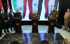 """بحضور الغانمي وباقري.. أيوب يتعهد بـ""""تحرير"""" شمال سوريا عن طريق…"""