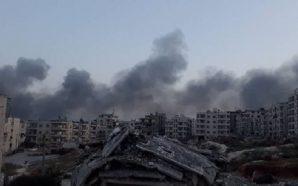 مدينة إدلب تشهد موجة نزوح غير مسبوقة عقب غارات أدت…