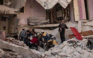 مقتل ثلاثة عشر مدنيا في انفجار بمدينة جسر الشغور