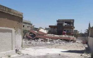 مقتل عنصر بالفرقة الرابعة في درعا ومجهولون يسوون مبنى بلدية…